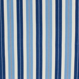 Pool House Stripe Admiral Blue RM Coco Fabric | The Fabric Co