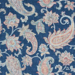 Clarendon Manor Sapphire RM Coco Fabric   The Fabric Co