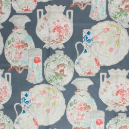 China Obsession Truffle RM Coco Fabric | The Fabric Co