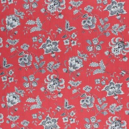 Wightwick Manor Redcoat RM Coco Fabric   The Fabric Co