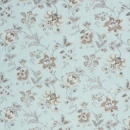 Wightwick Manor Mint RM Coco Fabric | The Fabric Co