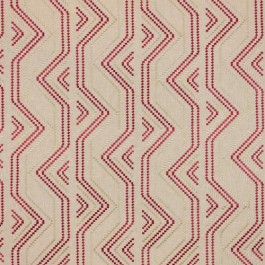 Square Pegs Coral RM Coco Fabric