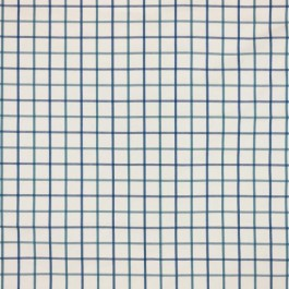 Harborside Check Marine RM Coco Fabric