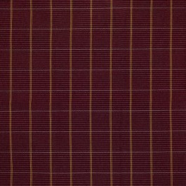 Piccadilly Plaid Aubergine RM Coco Fabric