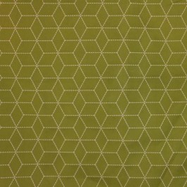 Boxed In Lime RM Coco Fabric