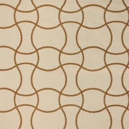 Roped In Old Gold RM Coco Fabric