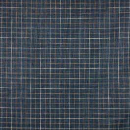 Mercer Check Bristol RM Coco Fabric