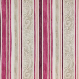 Constantinople Stripe Cassis RM Coco Fabric