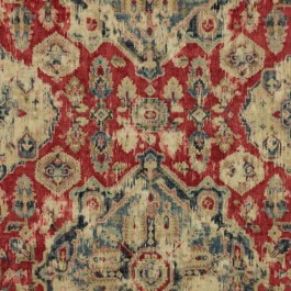 Cimmaron Lodge Moroccan Red RM Coco Fabric