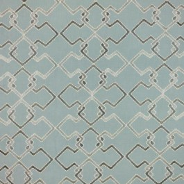Interlock Trellis Azure RM Coco Fabric