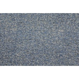 Wayfarer Storm Dark Blue Textured Chenille Crypton Upholstery Fabric