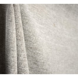 Ash Grey Neutral Chenille Upholstery Fabric