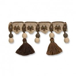 Special Embellished Tassels | Mahogany by Robert Allen
