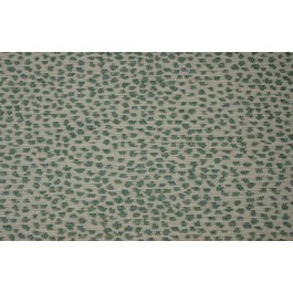 Siamese Sky Teal Blue Green White Cheetah Chenille Upholstery De Leo Fabric