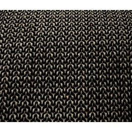 Squiggle Black Grey Textured Geometric Upholstery Fabric
