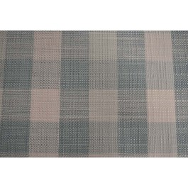 Cotswold Mist Aua Blue White 3 Inch Woven Buffalo Check Upholstery Richloom Fabric