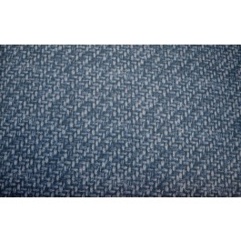 Tampico Indigo Dark Blue Printed Outdoor Waverly Fabric