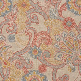 2330CB PAISLEY RED RM Coco Fabric | The Fabric Co
