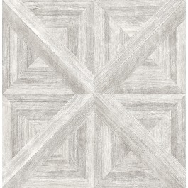 2540-24017 Carriage House Light Grey Wood Wallpaper
