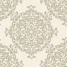 2603-20901 Gabrielle Brass Lace Feature Wallpaper