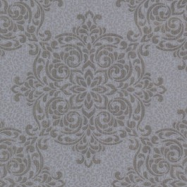 2603-20905 Gabrielle Grey Lace Feature Wallpaper