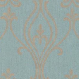 2603-20922 Luca Aquamarine Damask Wallpaper