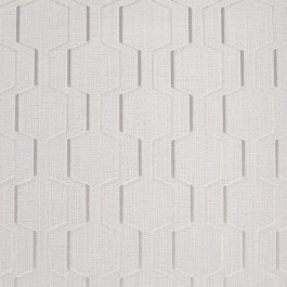2603-20927 Harrison Grey Rectangular Geo Wallpaper