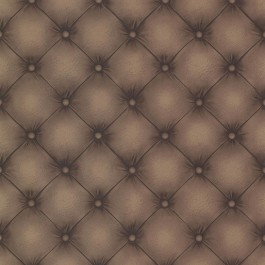 2604-21232 Chesterfield Chestnut Tufted Leather Wallpaper