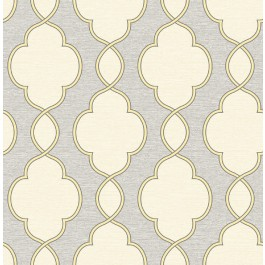 2625-21820 Structure Yellow Chain Link Wallpaper