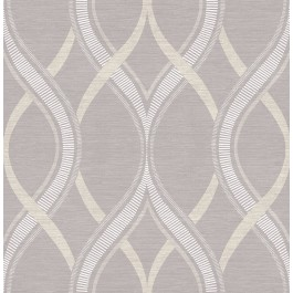 2625-21852 Frequency Lavender Ogee Wallpaper