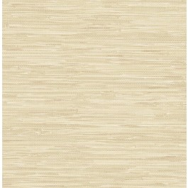 2657-22267 Natalie Taupe Faux Grasscloth Wallpaper
