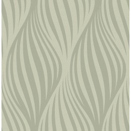 2662-001958 Distinction Taupe Ogee Wallpaper
