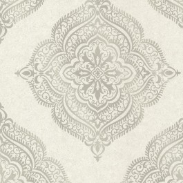 2665-21405 Capella Fog Medallion Wallpaper