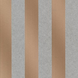 2665-21423 Magnus Copper Paisely Stripe Wallpaper