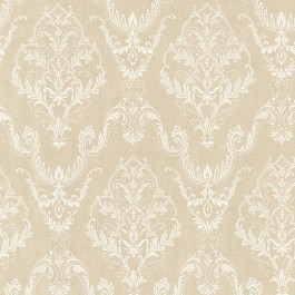 2665-21449 Wiley Beige Lace Damask Wallpaper