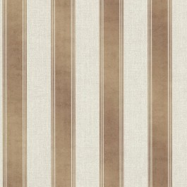 2665-21461 Simmons Copper Regal Stripe Wallpaper
