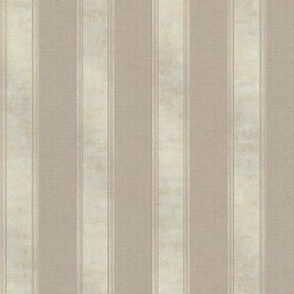 2665-21463 Simmons Taupe Regal Stripe Wallpaper
