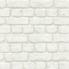 Chugach White Whitewashed Brick Wallpaper Sku 2774 587203