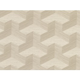 2829-82057 Y Knot Neutral Geometric Texture Wallpaper | The Fabric Co