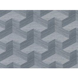 2829-82064 Y Knot Slate Geometric Texture Wallpaper | The Fabric Co