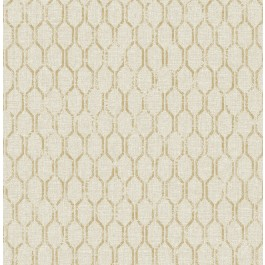 2834-25047 Elodie Neutral Geometric Wallpaper | The Fabric Co
