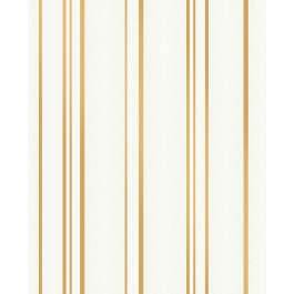 2834-42343 Thierry Gold Stripe Wallpaper | The Fabric Co