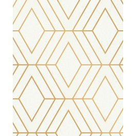 2834-42344 Adaline Off-white Geometric Wallpaper | The Fabric Co