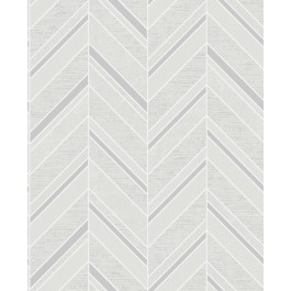 2835-42415 Punta Mita Ivory Chevron Wallpaper | The Fabric Co