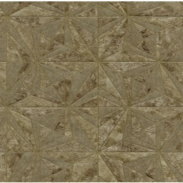 2835-C88614 Los Cabos Brown Marble Geometric Wallpaper | The Fabric Co