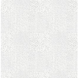 2861-25741 Zenith Silver Abstract Geometric Wallpaper | The Fabric Co