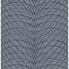 2861-25743 Aperion Navy Chevron Wallpaper   The Fabric Co