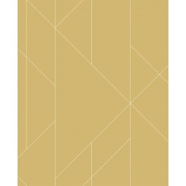 2889-25203 Torpa Mustard Geometric Wallpaper | The Fabric Co