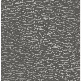 2889-25245 Hono Taupe Abstract Wave Wallpaper | The Fabric Co