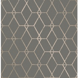 2889-25252 Osterlen Taupe Trellis Wallpaper | The Fabric Co